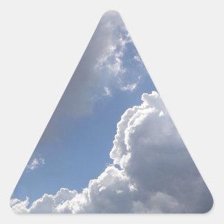 Nubes Pegatinas De Triangulo