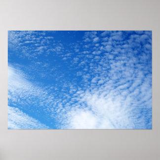 Nubes Póster