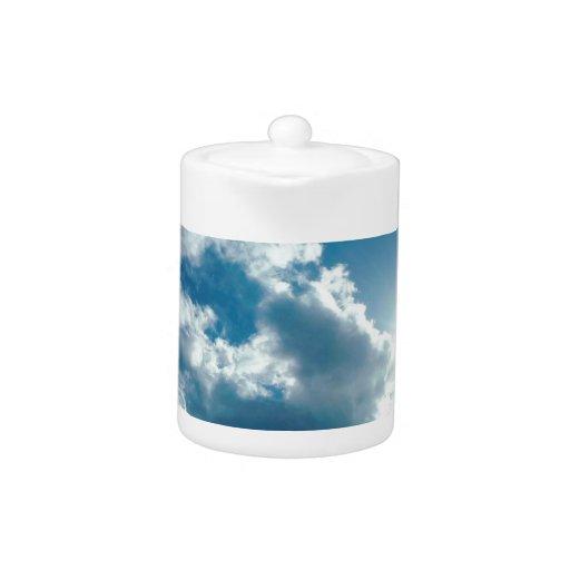 Nubes que miran desde arriba