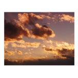 Nubes rosadas postal
