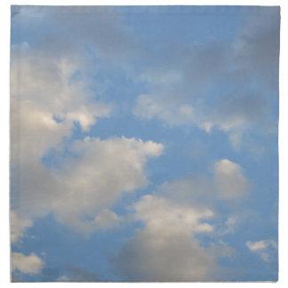 Nubes Servilleta Imprimida