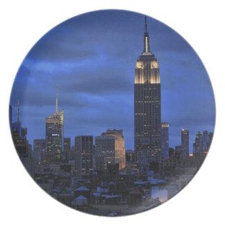 Nubes siniestras: El huracán Sandy se acerca a NYC Plato De Cena