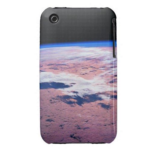 Nubes sobre la tierra iPhone 3 cobertura