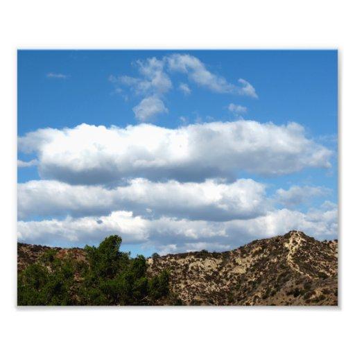 Nubes sobre las montañas fotos