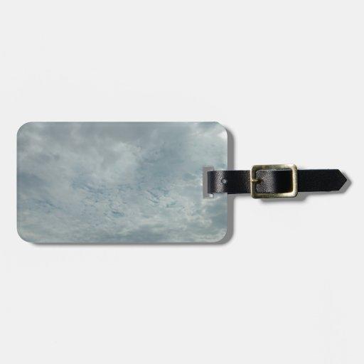 Nubes sobre Tejas Etiquetas Bolsas