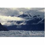 Nubes sobre un glaciar esculturas fotográficas