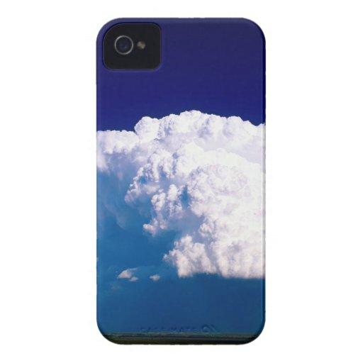 Nubes Thunderhead Sidney Nebraska Case-Mate iPhone 4 Coberturas