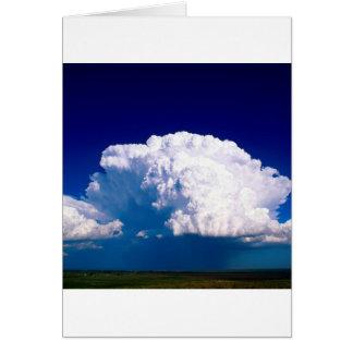 Nubes Thunderhead Sidney Nebraska Tarjetas