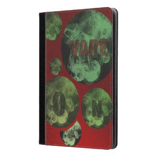 Nubes verdes rojas de Vape del Grunge