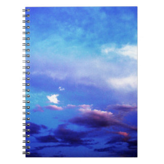 Nubes y cielo note book