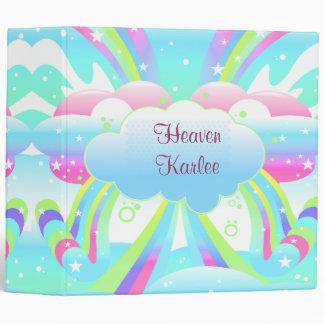 """nubes y cuaderno del pastel del cielo del arco iri carpeta 2"""""""