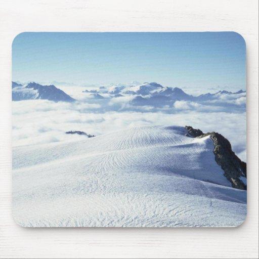 Nubes y nieve tapetes de raton