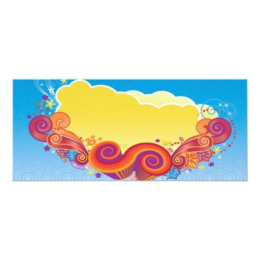 nubes y remolinos anuncio personalizado