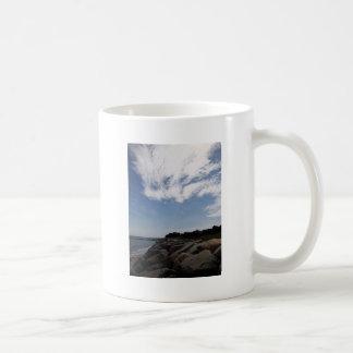 Nubes y rocas, Cape Cod Tazas De Café