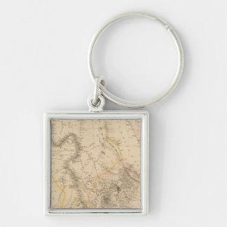Nubia, Abyssinia 2 Key Chains
