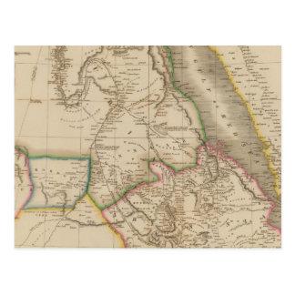 Nubia, Abyssinia, África Postal