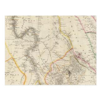 Nubia y Abyssinia Postales