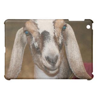 Nubian Dairy Goat Doe White Stripe Caprine iPad Mini Cover