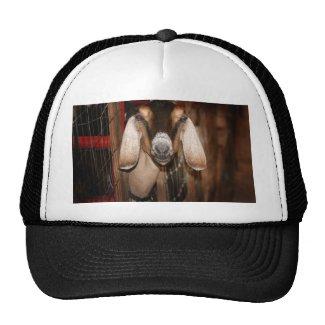 Nubian doe head on getting out of gate trucker hat