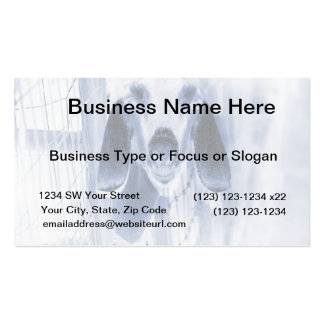 Nubian doe head on invert Double-Sided standard business cards (Pack of 100)