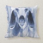 Nubian doe head on invert pillows