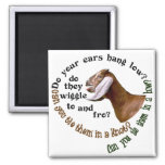 NUBIAN GOAT - DO YOUR EARS HANG LOW? REFRIGERATOR MAGNET