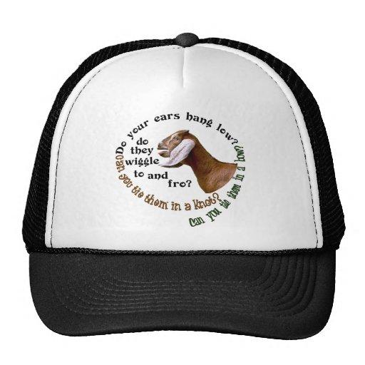 NUBIAN GOAT - DO YOUR EARS HANG LOW? MESH HAT