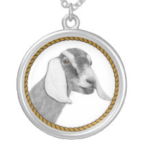 Nubian Goat Necklace