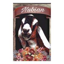 Nubian Goat Stationery