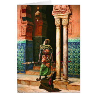 Nubian Guard by Deutsch Stationery Note Card