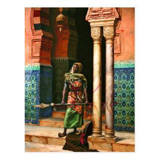 Nubian Guard by Deutsch Post Card