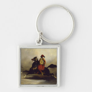 Nubian Horseman at the Gallop Keychain
