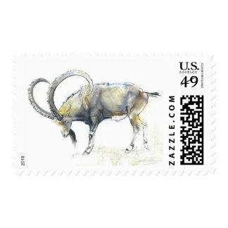 Nubian Ibex 2008 Postage