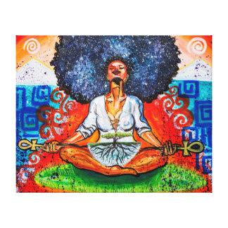 """Nubian Kush 50"""" x 40"""" X Large Wrapped Canvas Print"""