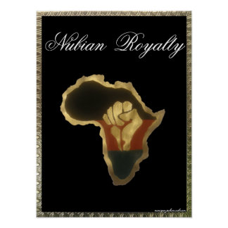 Nubian  Royalty Poster