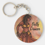 Nubian Sister Belly Dancer Key Chain
