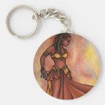 Nubian Sister Belly Dancer Keychain