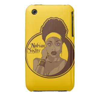 Nubian Sister iPhone 3 Cover