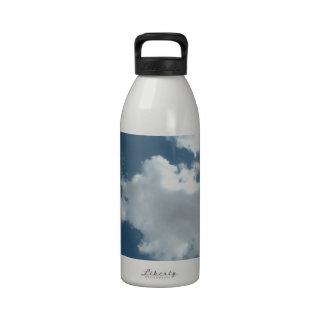 Nublado Botella De Agua Reutilizable