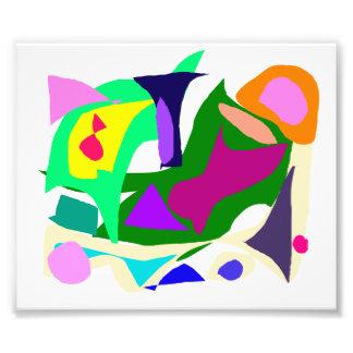 Nublado muchos pensamientos de los colores que sal impresion fotografica