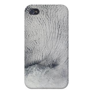 Núblese los modelos y el hielo marino en el Ocea m iPhone 4 Fundas