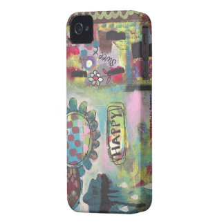 Núblese me caso feliz del iphone 4 de Barely There iPhone 4 Case-Mate Coberturas