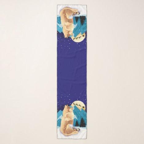 NUBZ 2020 long chiffon scarf