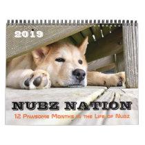 NUBZ NATION 2019 Calendar in 3 sizes