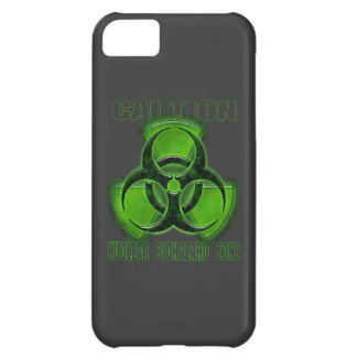 Nuclear Biohazard Caution Sign iPhone 5C Cover