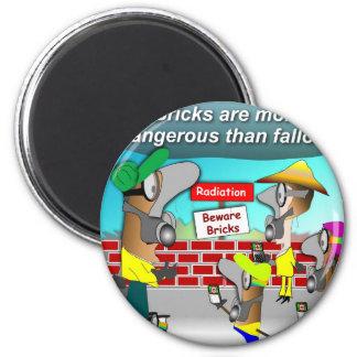 Nuclear Bricks Magnet