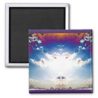 Nuclear Cloud 2 2 Inch Square Magnet