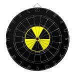 Nuclear Darts Dartboard With Darts