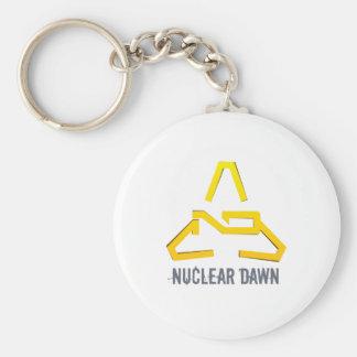 Nuclear Dawn Basic Round Button Keychain