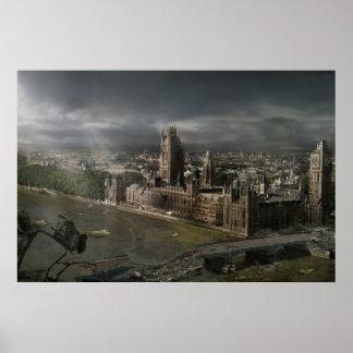Nuclear Dawn - Clocktower Poster
